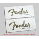 1956-1959 Fender Duo-Sonic Waterslide Headstock Decals