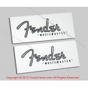 1956-1959 Fender Musicmaster Waterslide Headstock Decals