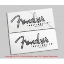 1960-1964 Fender Musicmaster Waterslide Headstock Decals