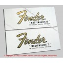 1964-1968 Fender Musicmaster II Waterslide Headstock Decals