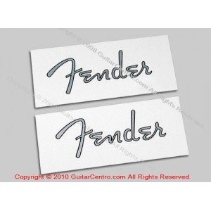 Fender Nocaster Waterslide Headstock Decals